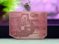 Aquaduino (Fab Lab made arduino for aquaponics)