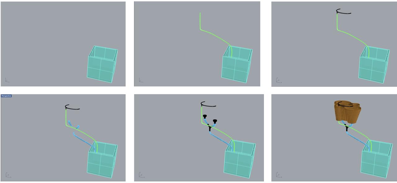 POC#2 - 3D modelling process using Rhino software